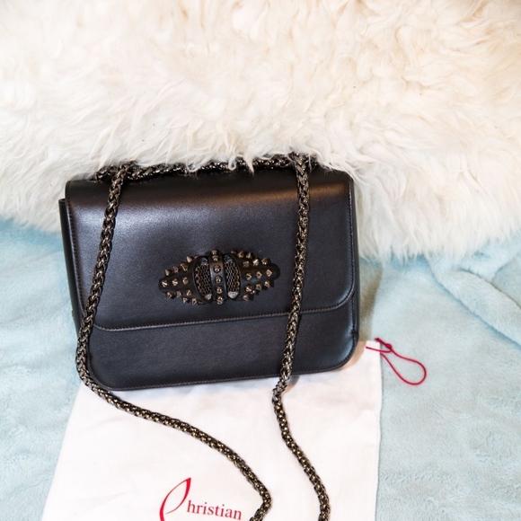 3c8a938f297 Christian Louboutin Sweet Charity Small Chain Bag NWT